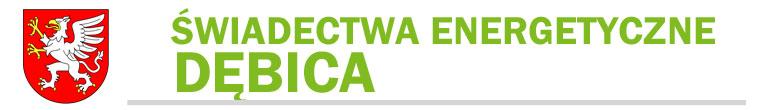 Certyfikaty energetyczne Dębica