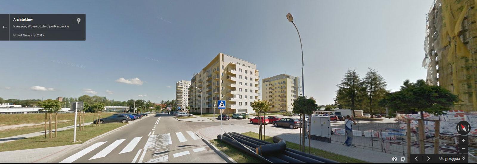 Osiedle Architektów, ul. Architektów 1, 35-001 Rzeszów - Developres
